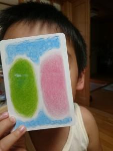 息子とポコアポコカードで遊んでみる