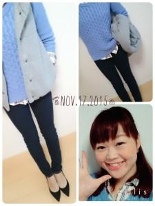 11月17日(火)のファッション