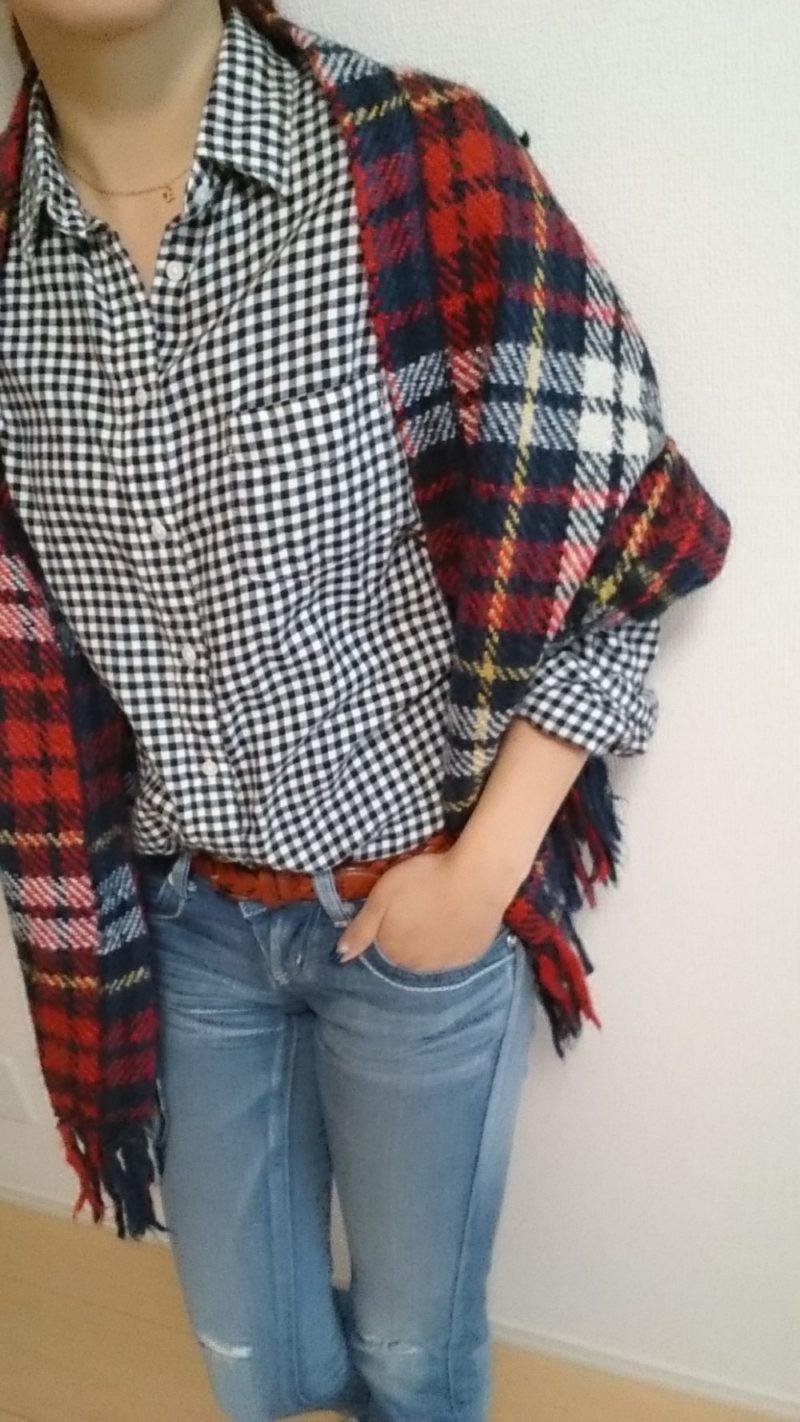 昨日11月3日(火)のファッション