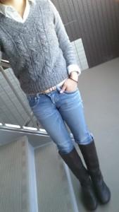11月27日(金)のファッション