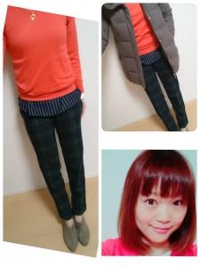 12月1日(火)のファッション