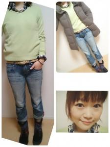 12月3日(木)のファッション