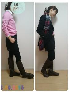 12月9日(水)のファッション