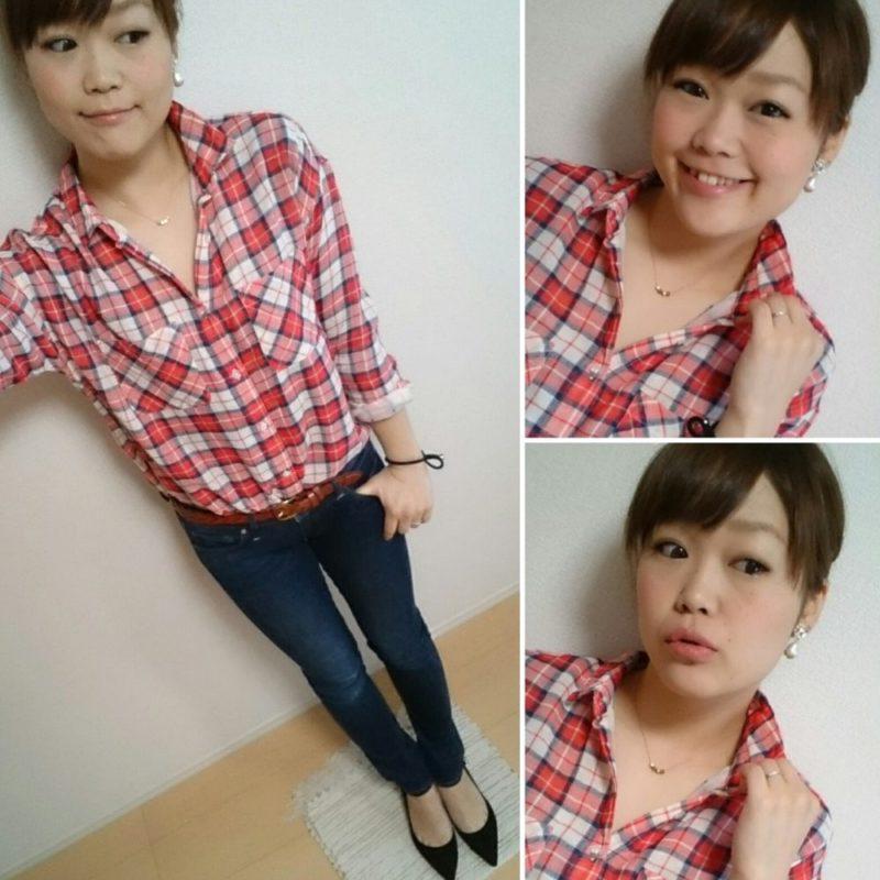 てろシャツ&V      デニムすき!