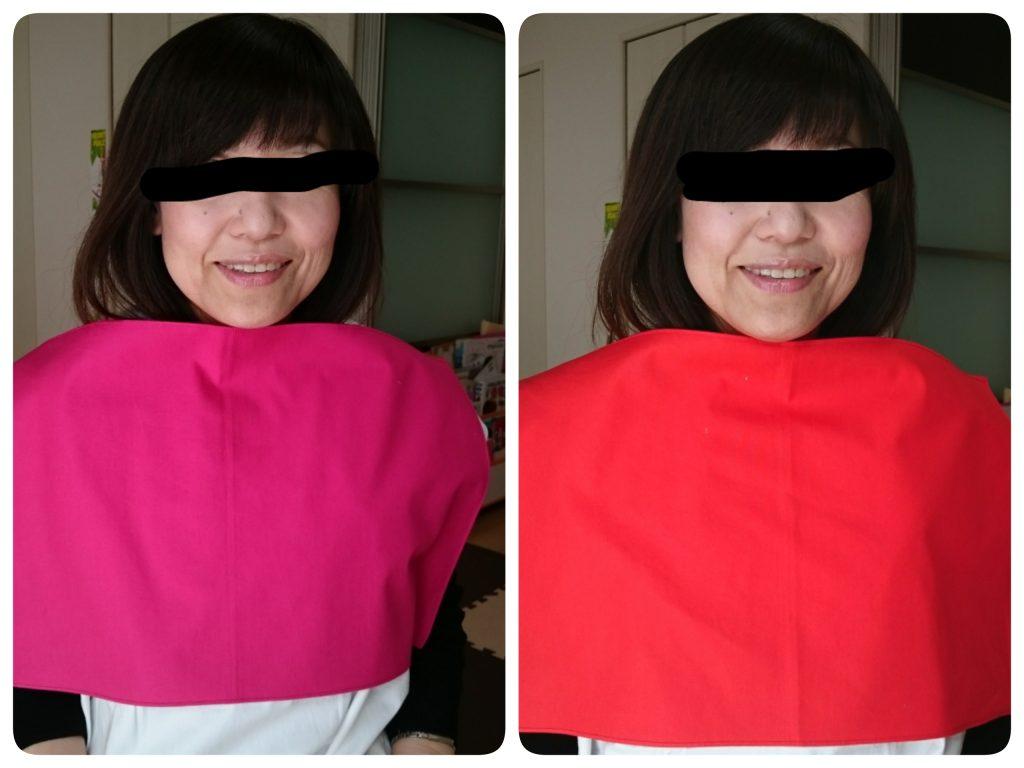 左の方血色が悪い。右の方が艶やかで健康的