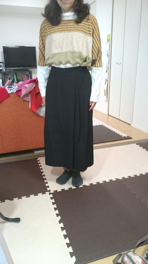 巻きスカートタイプのガウチョなら?
