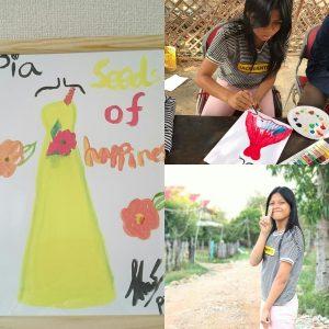 【心絵プロジェクト】カンボジアの子供達から元気をもらう