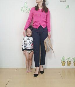 ZARAのパンツがとてもキレイで履きやすい!