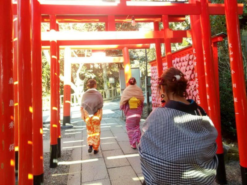 やっぱり着飾るのは楽しい!!! 犬山 城下町 三光稲荷神社